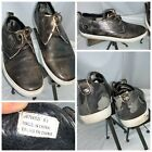 Joe's Jeans Fashion Sneaker Shoes Sz 9.5 Men Gray Camo Leather Mint YGI B0S-67