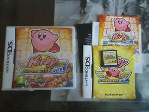 kirby super star ultra Nintendo ds complet original