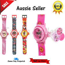 Kids Disney Digital Children Wrist Watch Images Multi Projector Kids Toy Watches