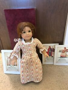"Felicity American Girl Doll 18/"" Retired Rose Garden Meet Dress Gown ONLY PC"