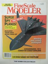 Fine Scale Modeler Magazine  May 1994  Top Secret Super Spy Planes