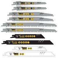 10 SabreCut Mixed Reciprocating Saw Blades For Bosch Dewalt Makita Milwaukee