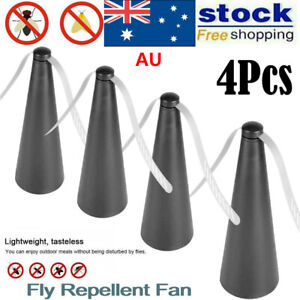4 pcs Automatic Fly Trap Repellent USB Fan Keep Flies And Bugs Away From Food