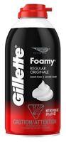 Comfort Glide Foamy Regular Shave Foam Men 11 Ounce