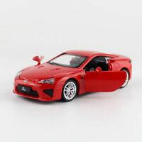 Lexus LFA 1/43 Die Cast Modellauto Auto Spielzeug Model Sammlung Pull Back Rot
