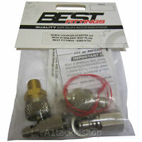 New Spec Best Fittings Quick Coupler Filling/Charging Adaptor Kit for Air Rifles