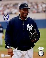 LEE SMITH YANKEES SIGNED JSA CERTED STICKER 8X10 PHOTO AUTOGRAPH AUTHENTIC