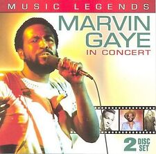 Music Legends: Marvin Gaye in Concert 2004 by Gaye, Marvin