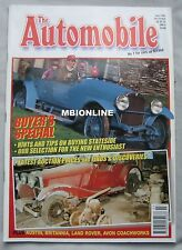 The Automobile 07/1998 featuring Cadillac, Austin, Britannia, Land Rover
