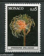MONACO 1980, timbre 1253, POISSONS SPIROGRAPHIS SPALLANZANII, FAUNE, MER, neuf**
