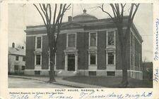 Nh Nashua Nuevo Hampshire Tribunal Casa Se Envía 1906 Udb Tarjeta Postal