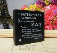 Rechargeable DMW-BCK7E Battery For Panasonic DMC-FT20 DMC-FT25 DMC-FT30 1200mAH