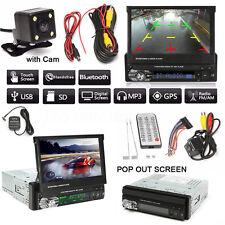 GPS 7'' Pantalla Táctil Coche Radio CD/MP3/MP5 Bluetooth+ Cámara Marcha Atrás