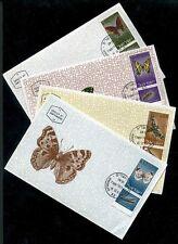 Israel 304-07 Butterflies Zegris Uarda Charaxes Jasius Simon's Maximum Card 1965