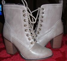 Candie's Women's Chichi Tan High Heel Ankle Boots - Size 6 -New no Box