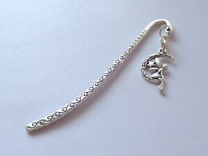 ANTIQUE SILVER FAIRY TINKERBELL SWIRLS BOOKMARK GIFT BIRTHDAY PARTY BAG FILLERS