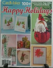 Card Maker Magazine Presents Happy Holidays Nov 2016 Festive FREE SHIPPING sb