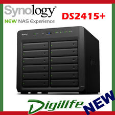 """Synology DiskStation DS2415+ 12-Bay 3.5"""" Diskless 2xGbE NAS (Scalable)"""