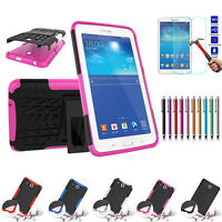 Defender Heavy Duty Stand Shockproof Rubber Hybrid Case Cover For LG G PAD3 8.0