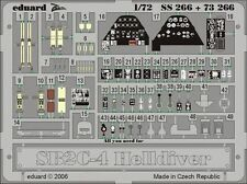 Eduard 1/72 SB2C-4 Helldiver graver Pour Academy # SS266