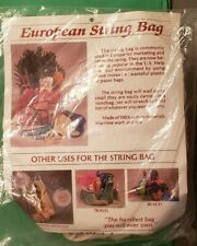 European Style String Market Bag