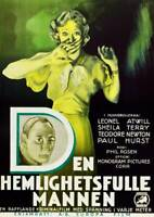 OLD MOVIE PHOTO The Sphinx Poster Top Sheila Terry Bottom Lionel Atwill