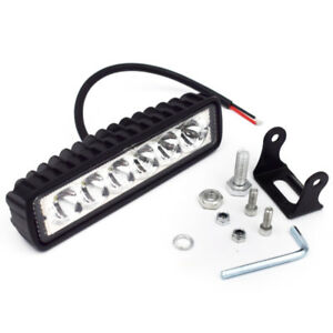 18W OffRoad Driving Fog Work 6Cree LED Bar Light Spot Lamp Fit Truck Jeep Nitid