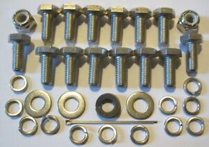MGB Roadster Boot Fitting Kit - Stainless Steel