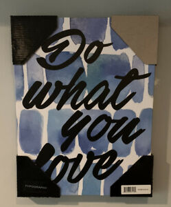 Do What You Love Wall Art 11x14 Inches Wall Canvas Decorative Wall Art