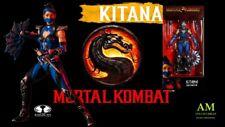 McFarlane Mortal Kombat 3 - Kitana Edenian Blue - Figurine - New / Orig.