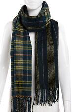 Women Men Unisex Pashmina Winter Warm Tartan Checked Neck Scarf Wrap Plaid Wool