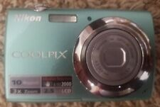 Nikon Coolpix S220 10.0MP Digital Camera - Aqua