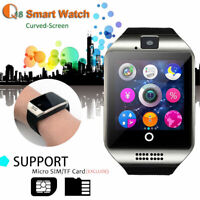 Q18 Smart Wrist Watch Bluetooth Waterproof GSM For Android/IOS Samsung/iPhone