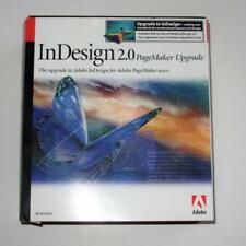 Adobe InDesign 2.0 PageMaker Upgrade 27510472 Windows Upg CD-ROM Manual Book