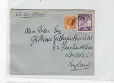 ANTIGUA - LEEWARD ISLANDS: KGVI Air Mail cover to London (C38660)