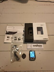Wahoo Elemnt Bolt GPS Cycling Computer with aero mount, in original box
