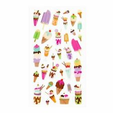 Sweet Treats Foil Stickers Papercraft DIY Crafts Scrapbook Party Ice Cream