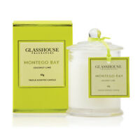 NEW Glasshouse Montego Bay Coconut Lime Triple Scented Mini Candle 60g Free Post