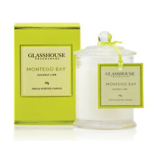 NEW Glasshouse Montego Bay Coconut Lime Triple Scented Mini Candle 60g 15%OFF
