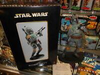 Star Wars 2000 Attakus Return Of The Jedi Boba Fett Statue ~ #1161/1500