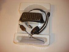 OEM MICROSOFT XBOX 360 CHATPAD KEYBOARD + HEAD SET NEW