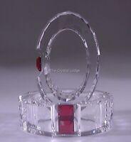 Swarovski Crystal Rainbow Napkin Rings Set of 2 Siam #276687
