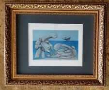 PABLO PICASSO CIRCA 1948  SIGNED AWESOME PRINT MATTED 11 X 14 + LIST  $995