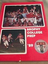 Yearbook, 1988 Brophy College Prep, Phoenix