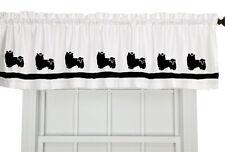 Biewer Terrier Dog Window Valance Curtain .Choice colors