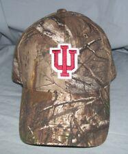 Indiana Hoosiers NCAA Realtree Hunting Camo Cap Hat