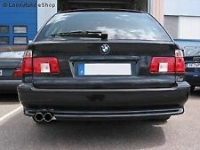 Iron Sport Exhaust race-version BMW E39 Touring 540i with serien-heckschürze