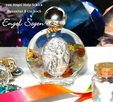 Engel Segen Altar Flakon Hausaltar NEU Erzengel Energie *Rund um Schutz* NEU