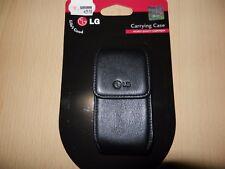 Original LG ccl-140 kg800 bolsa de piel clip de correa de cuero bolso motorola k1 k1m k3