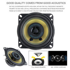 2pcs 4 Inch 70W Car Coaxial Horn Vehicle Door Auto Audio Music Stereo Speakers